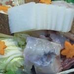 創作割烹 おおた - 河豚鍋