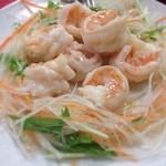 燕慶園 - 大海老のさっぱり炒め
