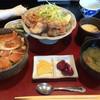 天野屋 - 料理写真:ささみ丼 とりから定食