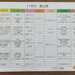 にこにこ食堂 - 2015.11