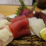 小石川 かとう - 刺し盛りアップ