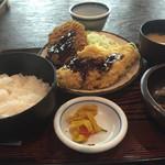 多気 - ミックスフライ定食 600円