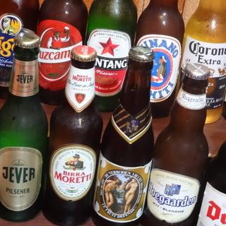 豊富な海外ビールをリーズナブルに♪