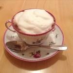 アロマタイムカフェ - モコモコ泡ののったココア