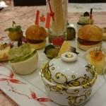 ホテルマイユクール祥月 - 夕食:前菜