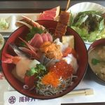 一寸一 - 料理写真:特上海鮮丼