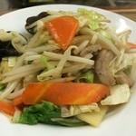 銀龍 - 野菜炒め