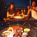浜辺のTipi Cafe - BBQプラン