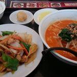 台湾料理 鴻翔 - ランチのセットメニュー