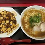 冠生園 - 中華そば+ミニ丼もの850円