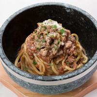 石焼パスタ kiteretsu食堂 - Meat meets ミートソース