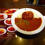CoCo壱番屋 - チーズインハンバーグビーフカレー プラストマトアスパラ