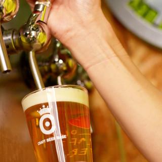 醸造所と変わらないクオリティ高い樽生ビール4種