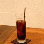 カフェ キュアー - スッキリとした味わいの水出しアイスコーヒーです。