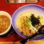 Kyoutsukementsurukame - 魚介醤油つけ麺!!ヾ(≧▽≦)ノ