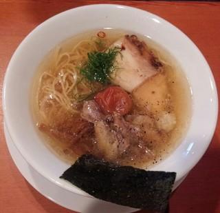 えなみ - 梅塩らぁめん800円/27年11月