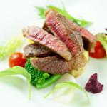 ヴォーノミイナ加藤 - 黒毛和牛のステーキ