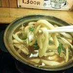 古式手打うどんそば 達磨 - 強麺