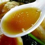 らー麺 N - スッキリとした鶏オンリースープ!