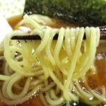 らー麺 N - 食べ応えのある中細麺!