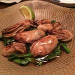 辿 - 牡蠣のバターポン酢