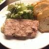 田舎風お肉のパテ