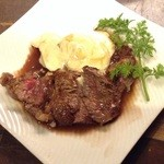ワイン食堂 がっと - 短角和牛ステーキ