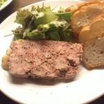 ワイン食堂 がっと - 田舎風お肉のパテ