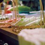たもつ - 野菜の数々