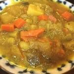 クシ - 野菜カレー