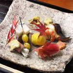銀座 蟹みつ - 前菜