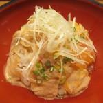 さ行 - 鯛の二色づけ丼