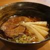 宮川伊吹 - 料理写真:醤油と、節の香る美しい高山ラーメンです