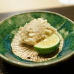 すず木 - 2015.11 ズワイガニの天ぷら