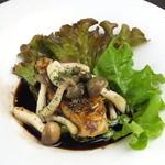 カーヴ隠れや - 料理写真:フォアグラのポエム