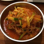 焼肉 千里 - ビビン麺:味のバランスがとても良い
