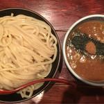 三田製麺所  - つけ麺(大) 熱盛   730円