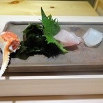 銀座 柳寿司 三代目 - 刺身