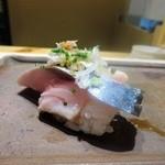 銀座 柳寿司 三代目 - さば