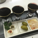 なかを酒店 - 赤ワイン 三種