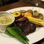 FERRO - 焼き野菜のバーニャカウダ