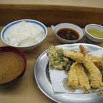 天ぷら いもや - いもや 天ぷら定食