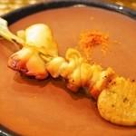 鮨 棗 - ホッキ串焼き