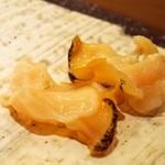 鮨 棗 - ツブ貝
