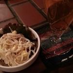 アホアホ  - お通しはスパゲティサラダ 2015.11