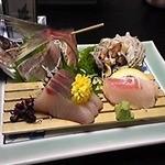 碧き凪ぎの宿 明治館 - 刺身盛り合わせ