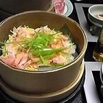 碧き凪ぎの宿 明治館 - 蒸し寿司