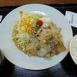 クロスワン - 生姜焼き定食(税込750円)