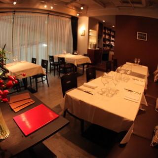 25時まで開店している本格的レストラン