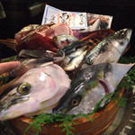 竹亭 - 今日の魚